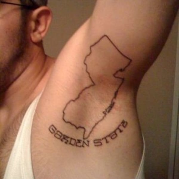 New Jersey Tattoos, Because Everybody's Gotta Be From Somewhere