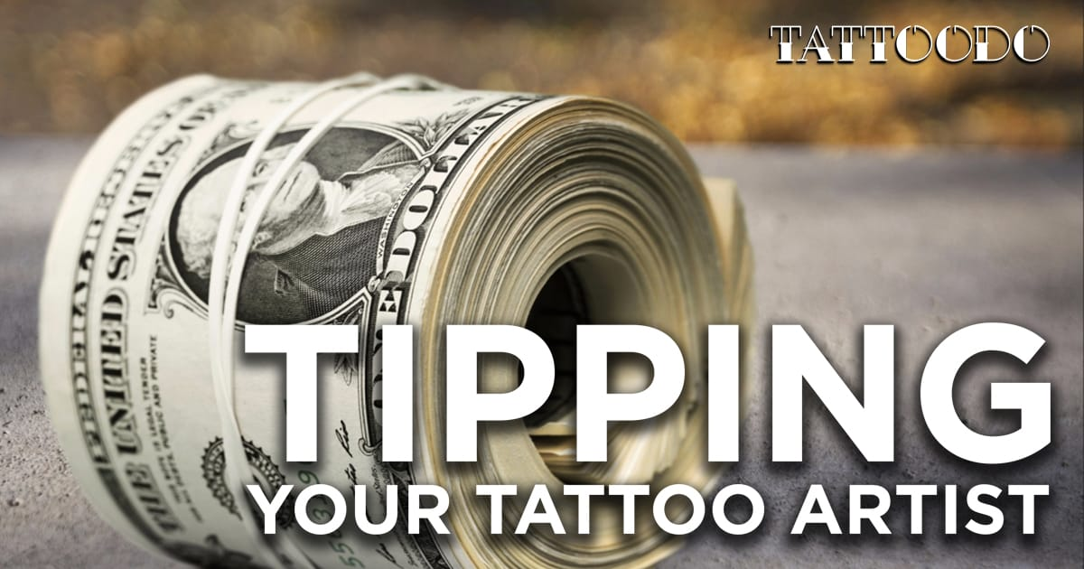 Tipping your tattoo artist tattoodo for Should you tip a tattoo artist