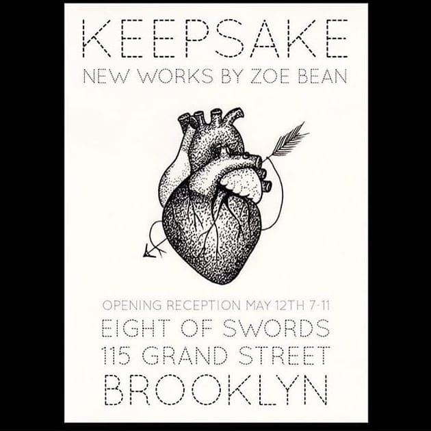 Keepsake: An Exhibition Featuring New Works by Zoe Bean