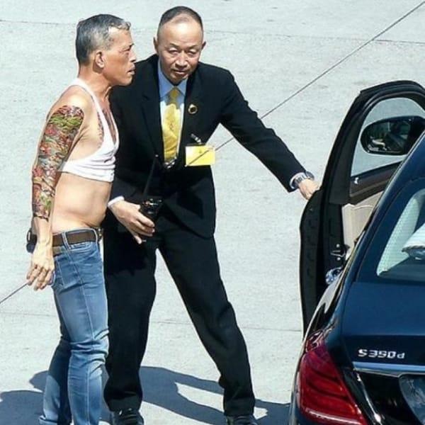 Thailand's King Maha Vajiralongkorn Shows Off His Sick Ink ...