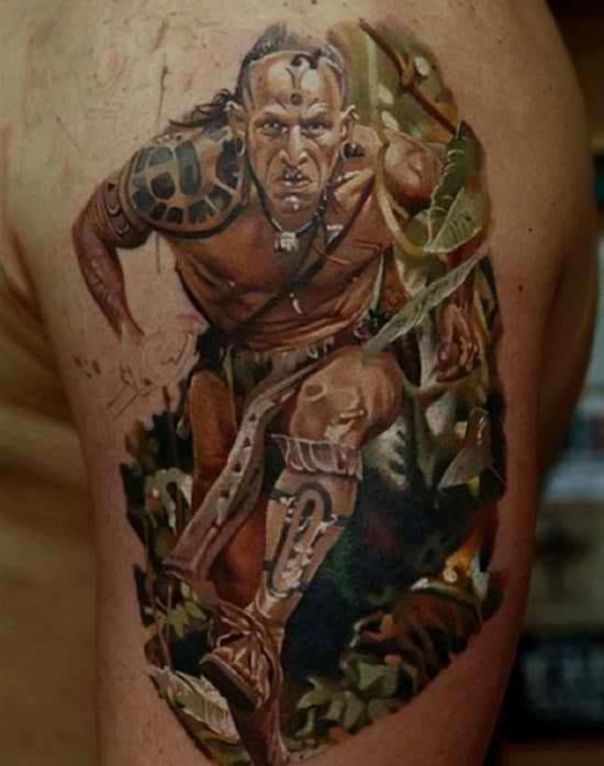 70 Incredible Tattoos For Men - Masculine Design Ideas  |Apocalypto Tattoo