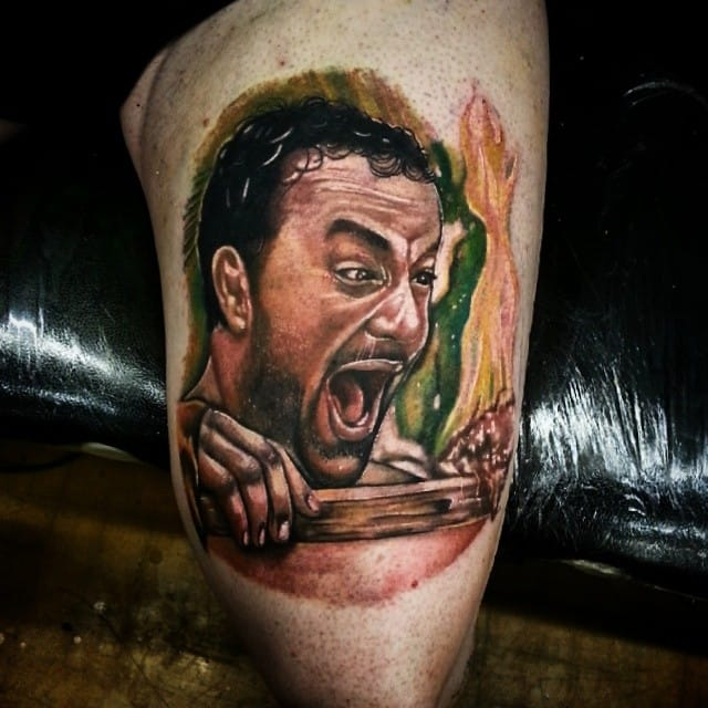 Tom Hanks Tattoos In Honor Of Our Future Vice President
