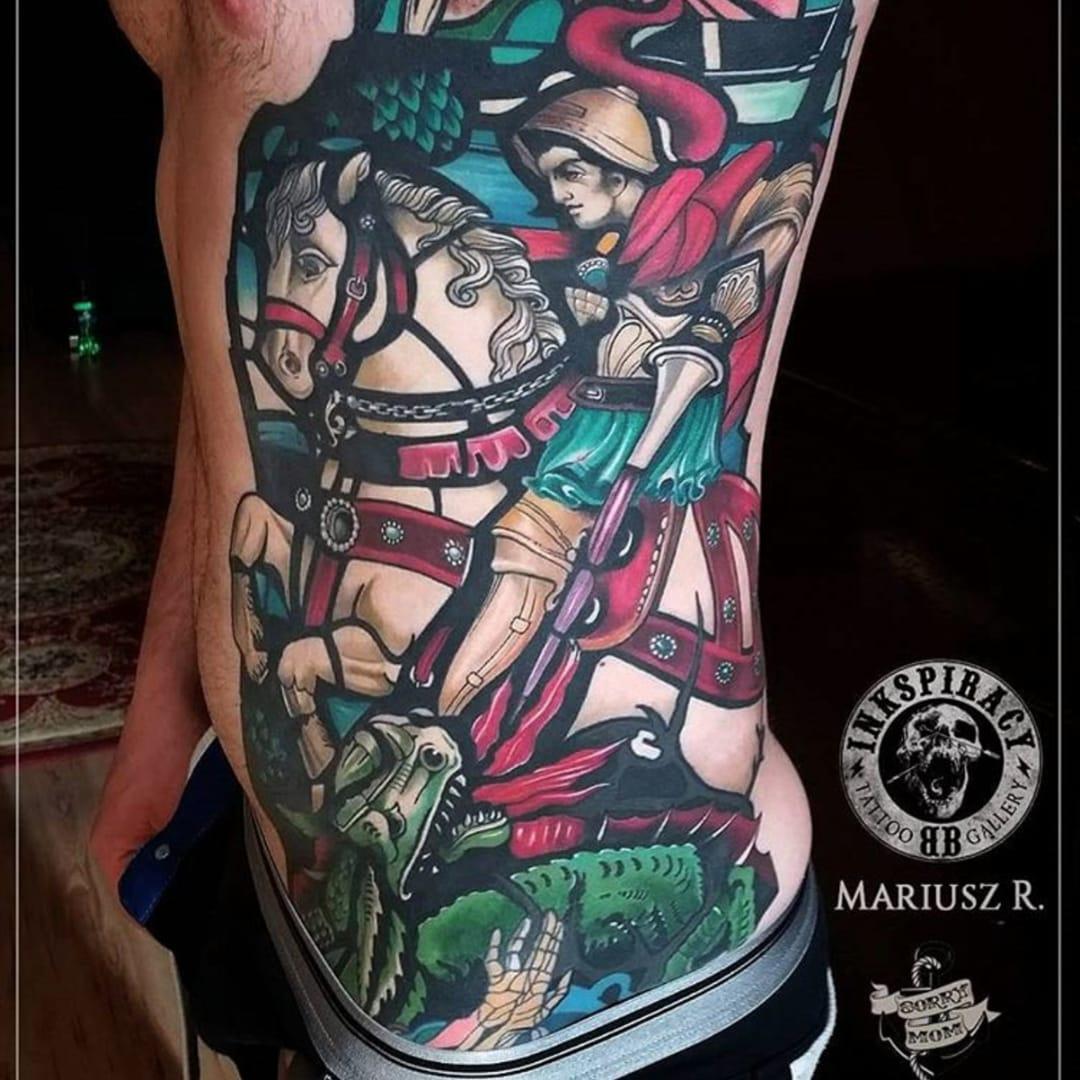 Tattoo artists tattoodo for St george tattoo