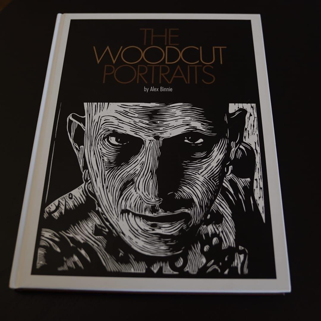 'The Woodcut Portraits' — Alex Binnie's Prints of other Tattooists