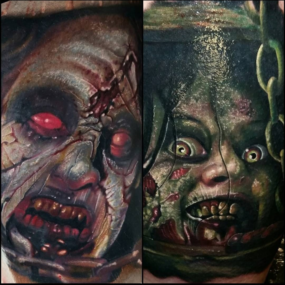 These 'Evil Dead' Tattoos Are Here to Swallow Your Soul