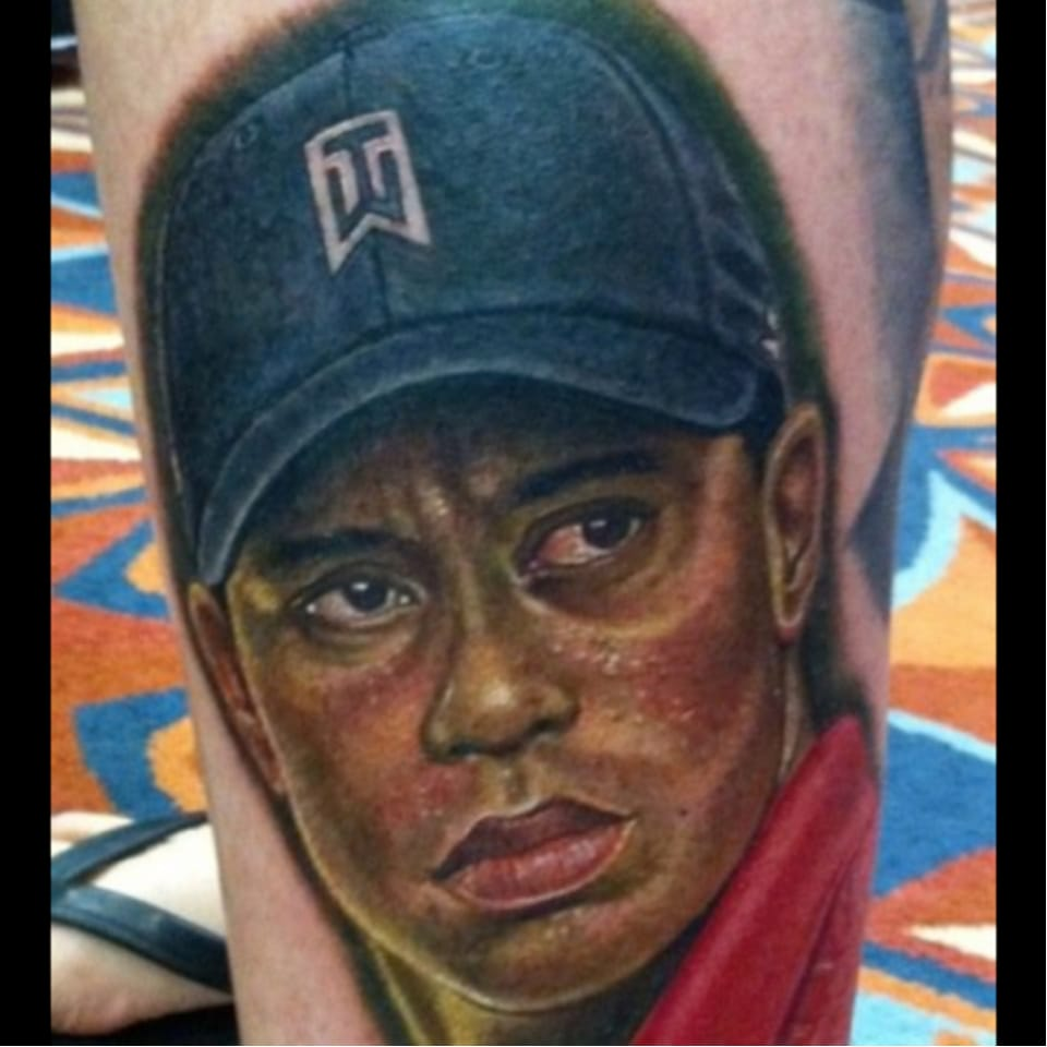 Are Tiger Woods Tattoos a Thing? We're Too Wasted to Remember.