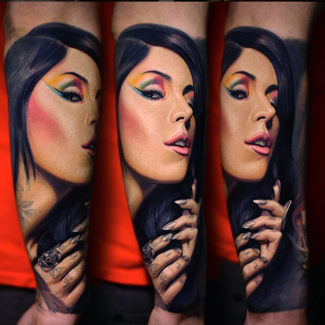 Nikko Hurtado's Color Portraits of Other Tattooists