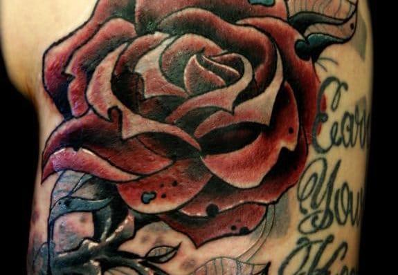 8 Beautiful Rose Tattoos