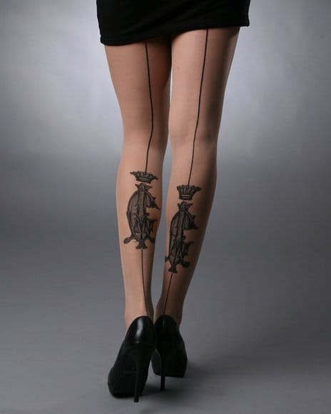 Fashion Trend Alert: Tattoo stockings