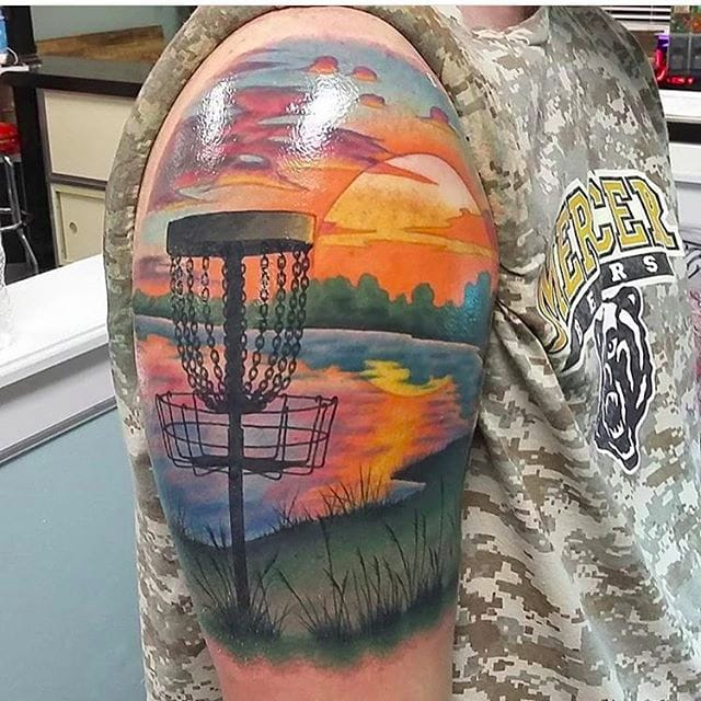 Disc Golf Tattoos Because We're All Just Bros, You Know?