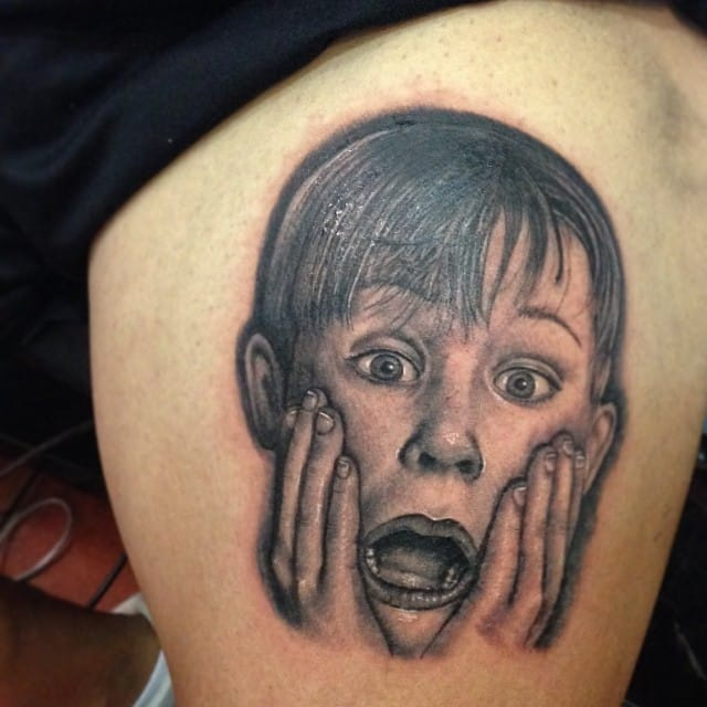 Home Alone Tattoos For The Abandoned Children In All Of Us