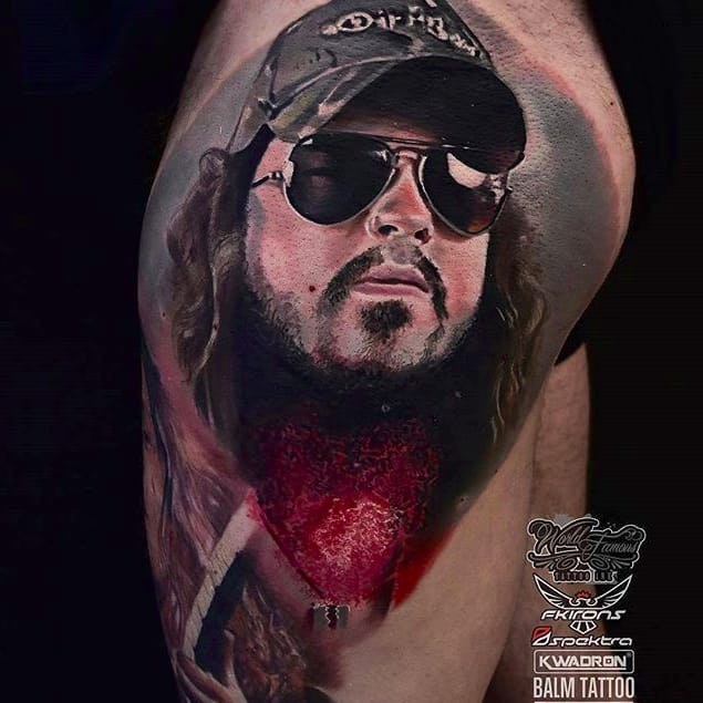 Dimebag Darrell Tattoos For The Father of Countless Crunchy Riffs