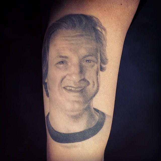 #chrisgarver #tattooart #portrait
