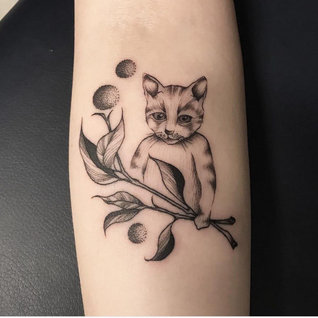 Dan's Mystical, Nature Inspired Tattoos
