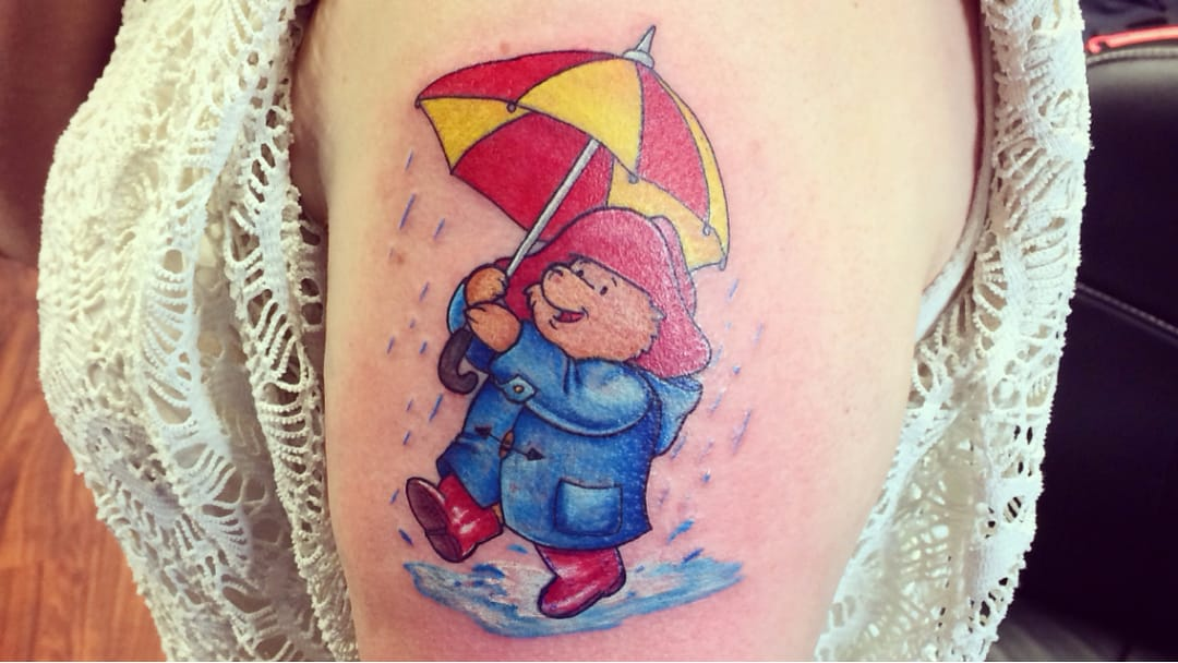 remembering michael bond with paddington bear tattoos tattoodo. Black Bedroom Furniture Sets. Home Design Ideas