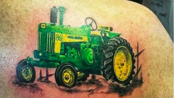 These John Deere Tattoos Have Us Seeing Green