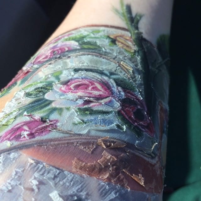 The Many Stages of a Healing Tattoo