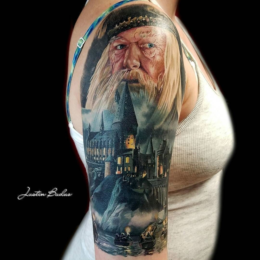 10 dumbledore facts and tattoos will forever change for Hardcore tattoo porn