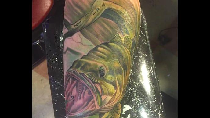 Maori Largemouth Bass Tattoo: Tattoo Ideas