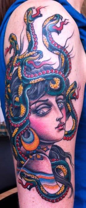26 Bewitching Medusa Tattoos