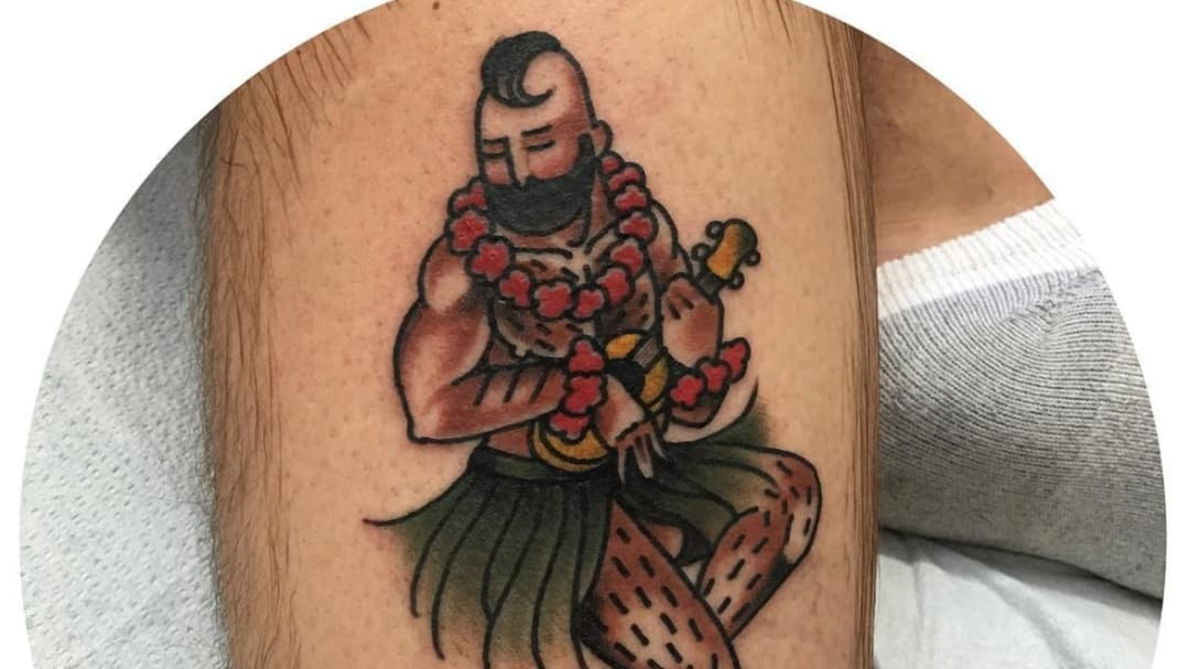 Big Boy Pinups Give a Queer Friendly Twist to Traditional Tattoos
