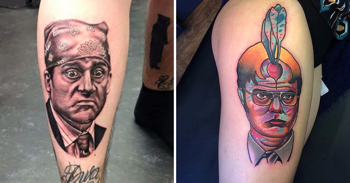 Take a trip to scranton with the office tattoos tattoodo for Tattoo shops in scranton pa