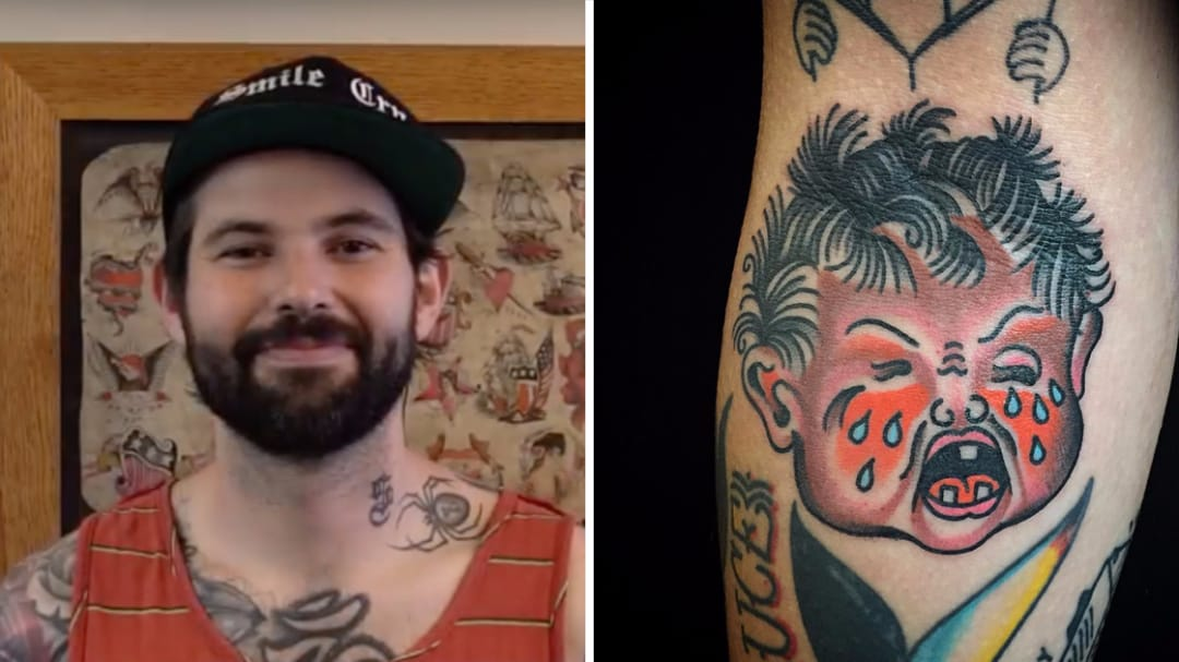 SESSIONS: Pete Chilly Tattoos a Couple of Babies