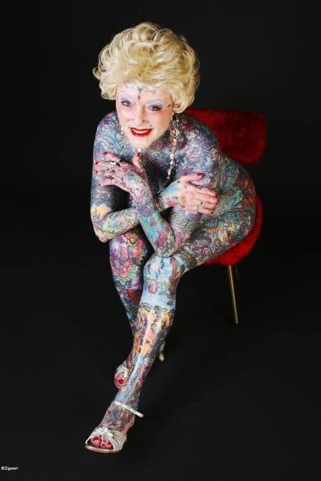 The World's Most Tattooed Woman Passed Away