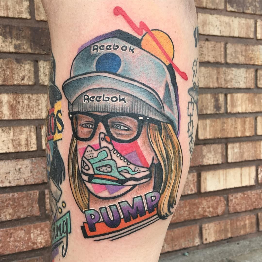 Remixing Movies — Lucas Reubelt's Pop Culture Collage Tattoos