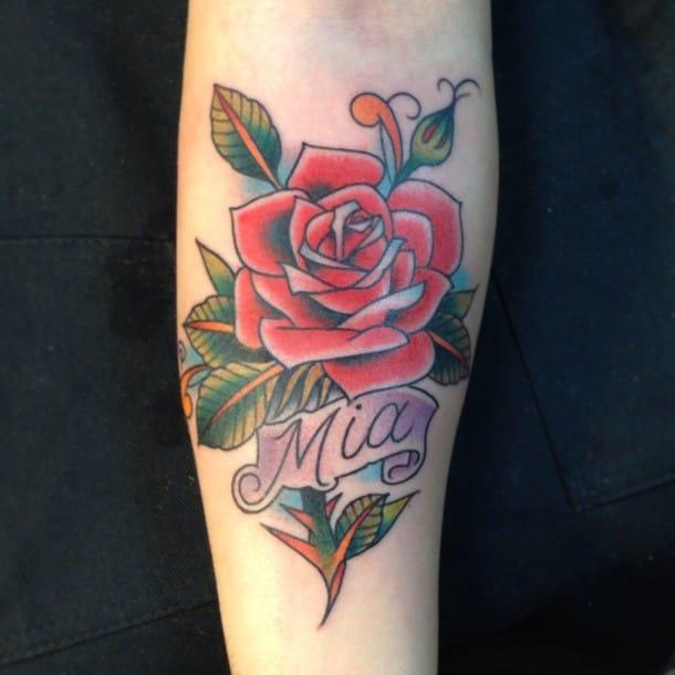 Tattoo by Luke Wessman.