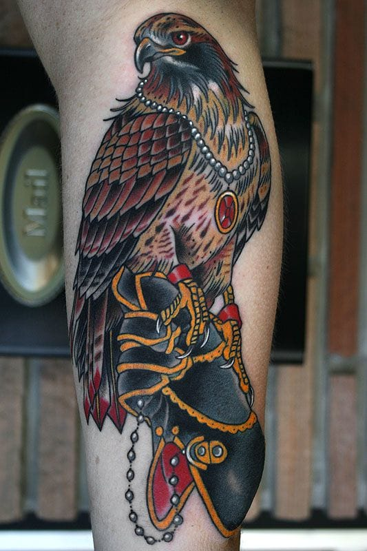 Cool tattoo by Stefan Johnsson.