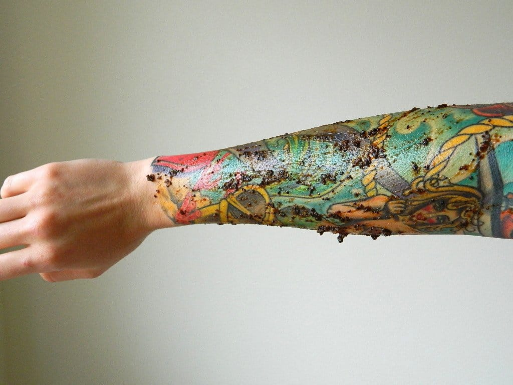 Scabbing your new tattoo!