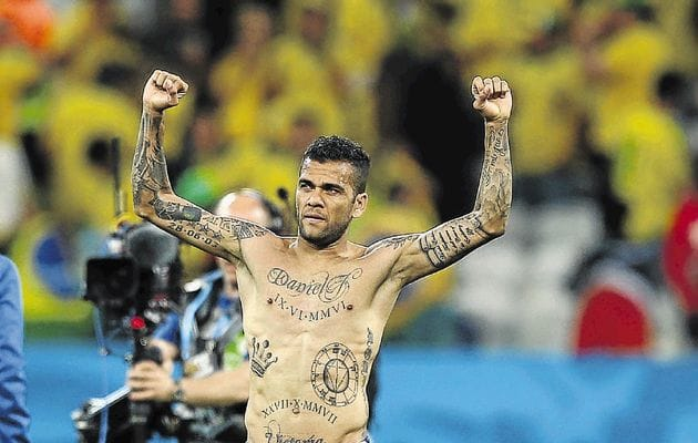 Top tattoos, top right back, top footballer!