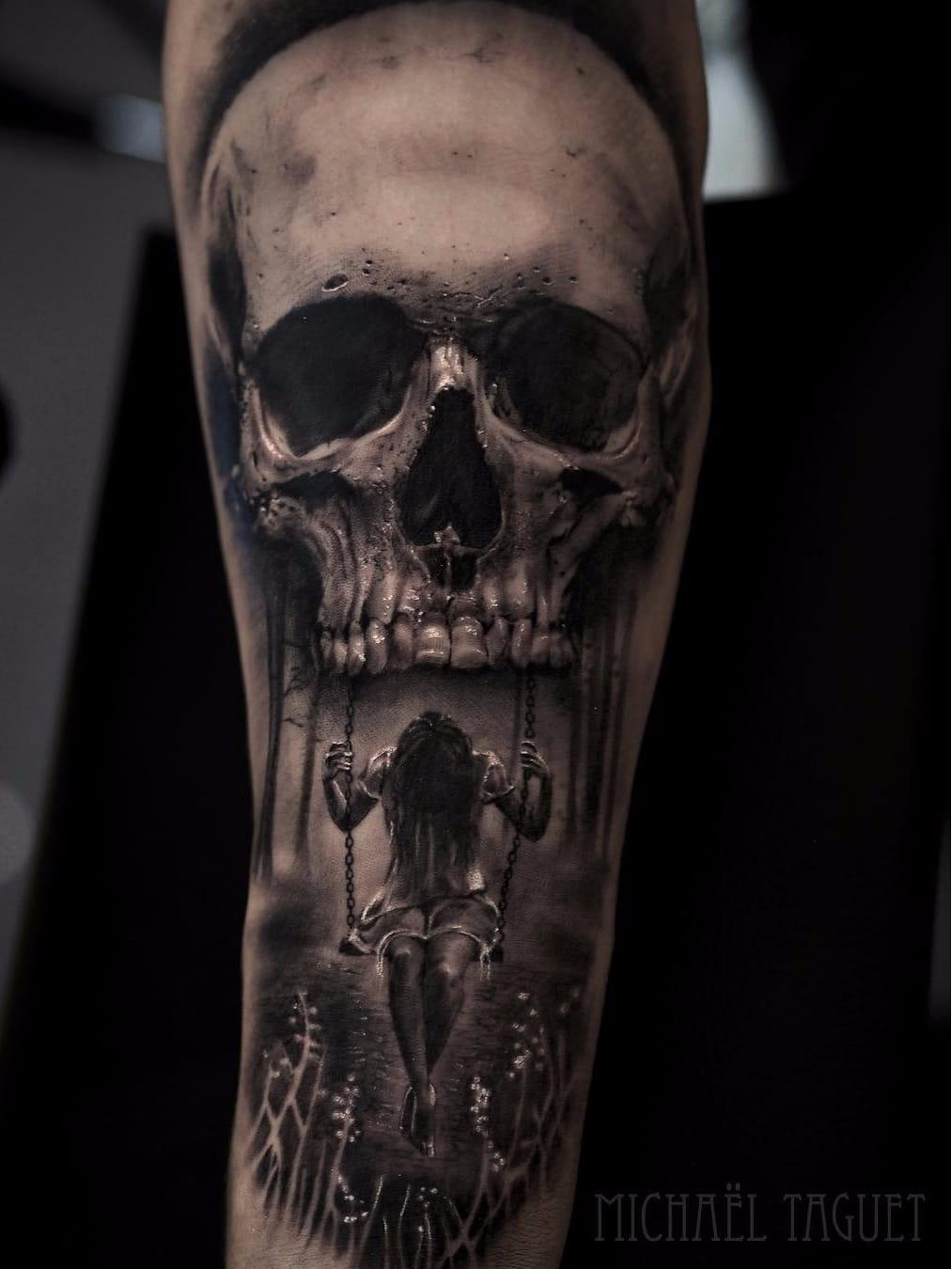 19 Tatuagens Realistas From Hell Aterrorizantes