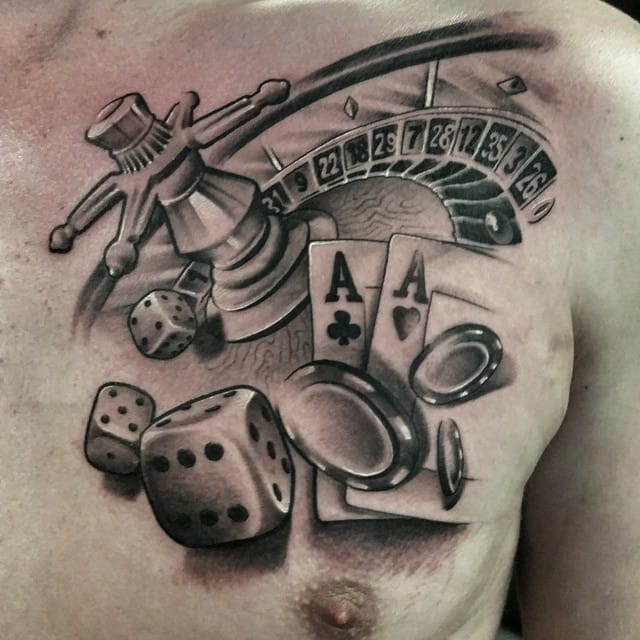 Tattoos gambling close to foxwood casino