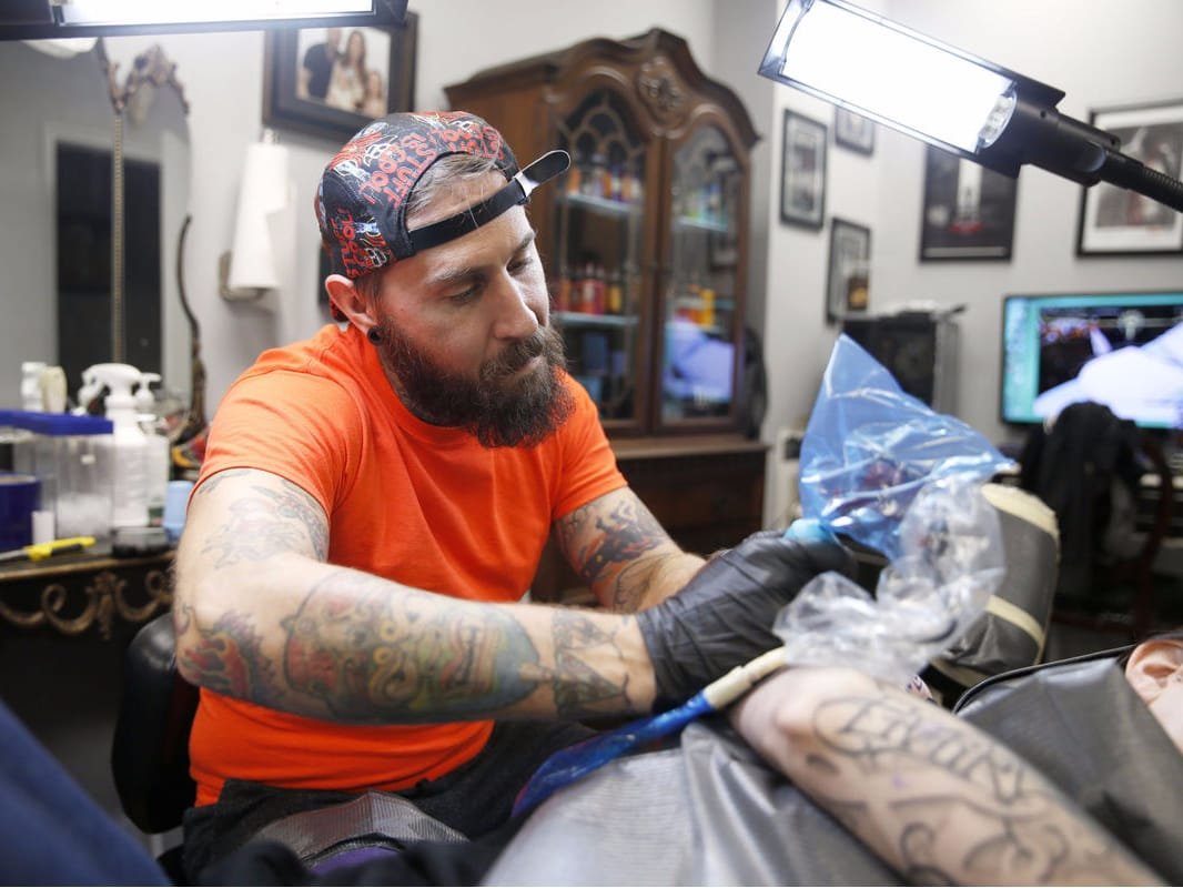 17 Tatuagens Super Coloridas De Geary Morrill