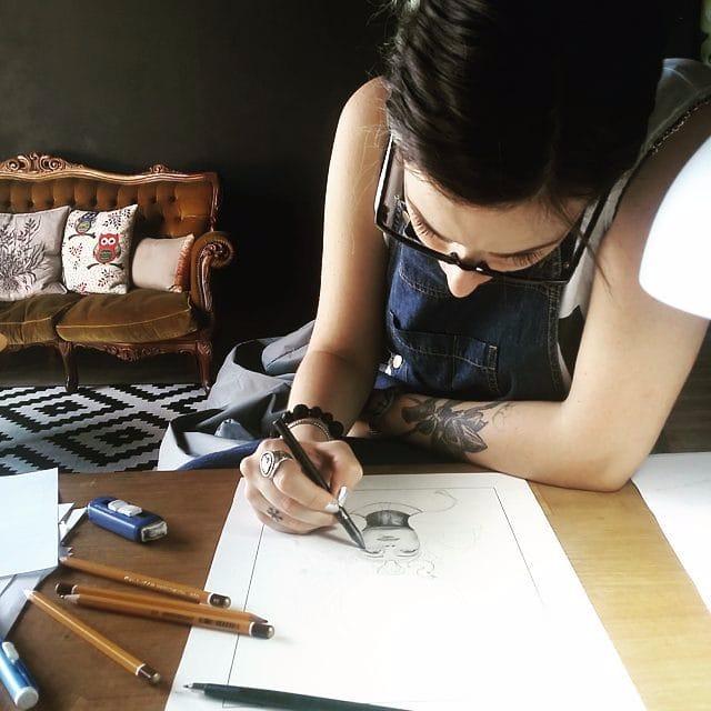 20 Tatuagens Alucinantes Da Artista Serena Caponera