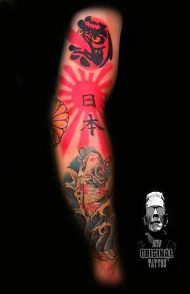 Sleeve by Original Tattoo