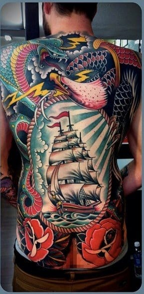 Tattoo by Tim Hendricks.