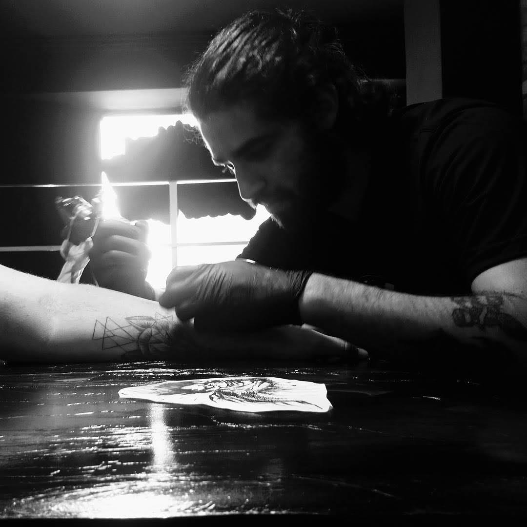 20 Tatuagens Blackwork Do Artista Caio Cesar Art