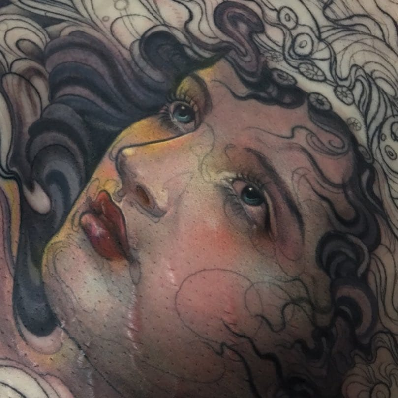 A Face like an Angel: Portrait Tattoos for Tattoo of the Day