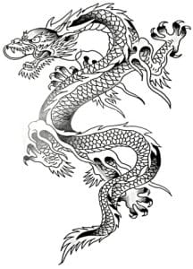 Chinese Dragon - Five Toes #dragon #chinese #chinesedragon