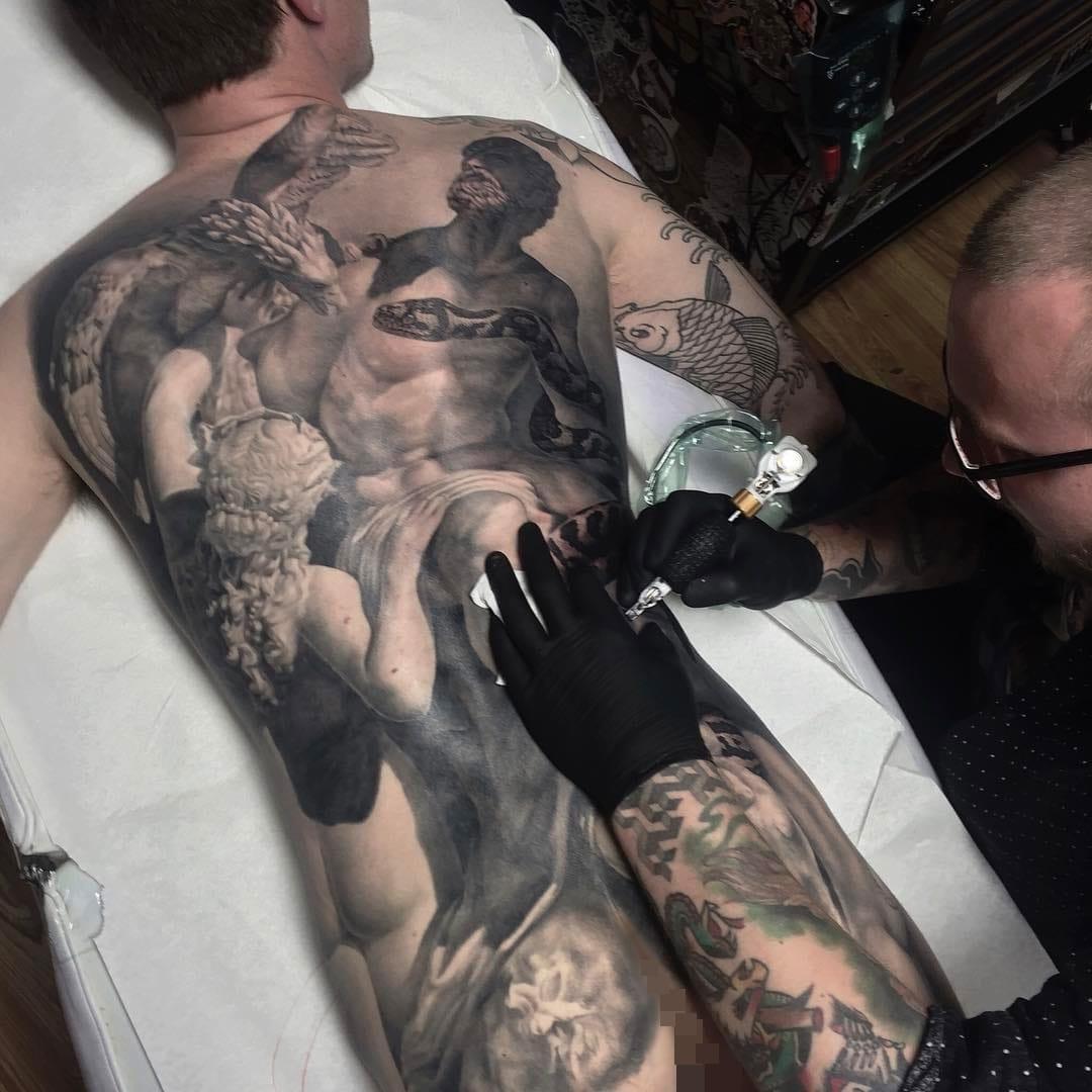 20 Tatuagens Realistas Impressionantes De Ben Kaye