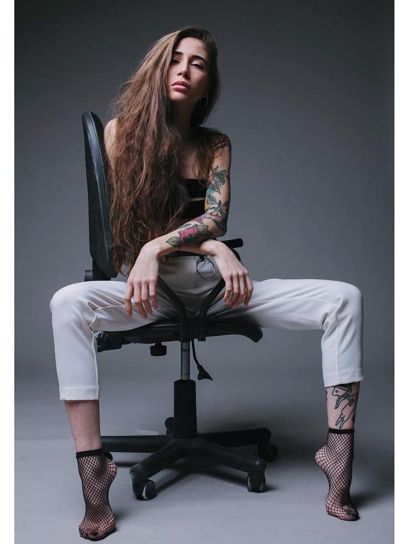 19 Tatuagens Lindas Da Artista Russa Anastasia