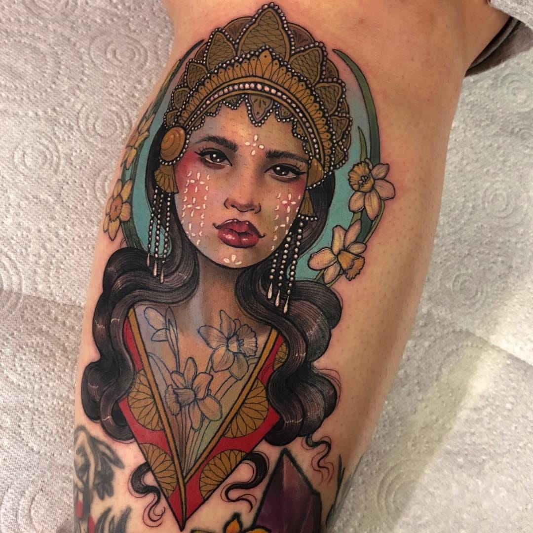 Who Run the World: Lovely Lady Tattoos for Tattoo of the Day