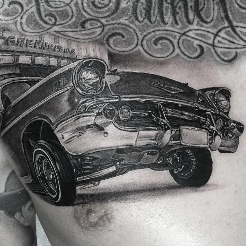 Grinding Gears: Car Tattoos for Tattoo of the Day