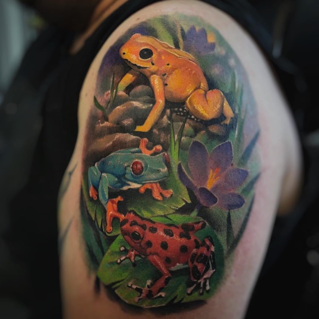Wild Thing U Make Our Heart Sing: Nature Tattoos for Tattoo of the Day