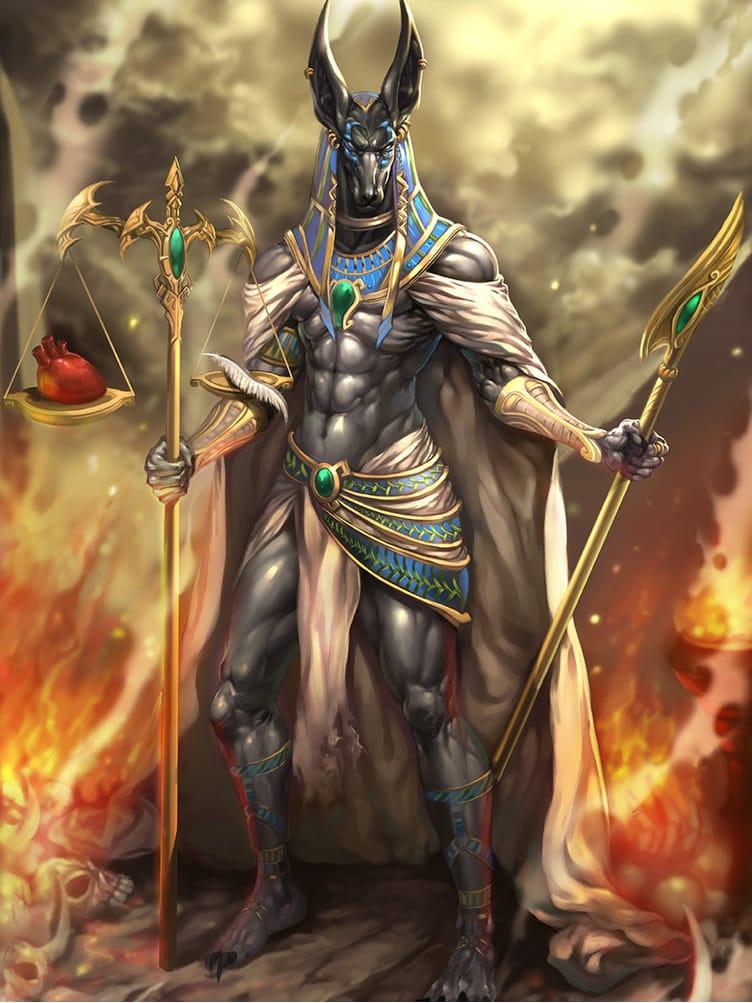 17 Tatuagens Poderosas Do Deus Egípcio Anúbis