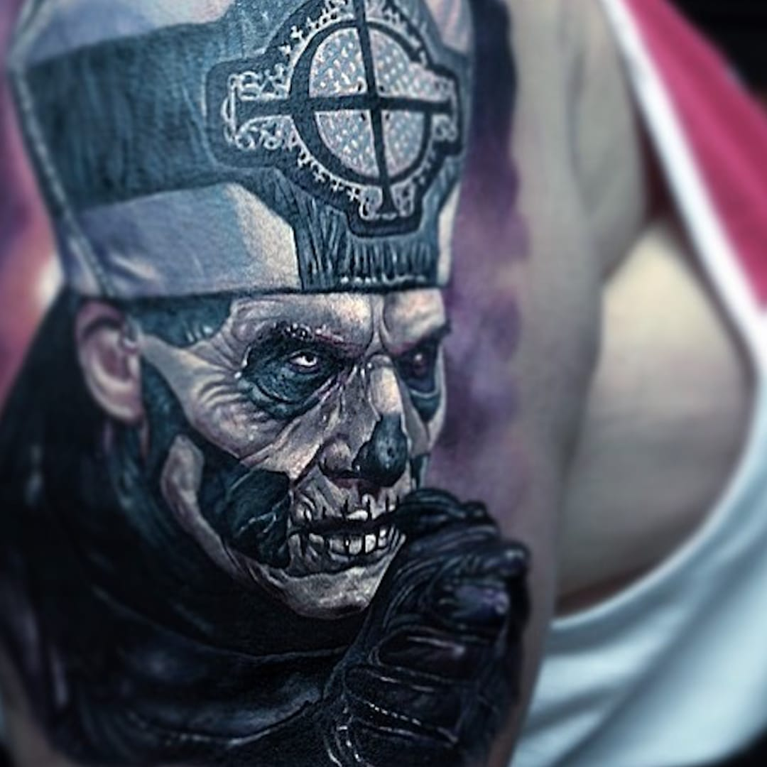 Gloom and Doom: Dark Art Tattoos for Tattoo of the Day