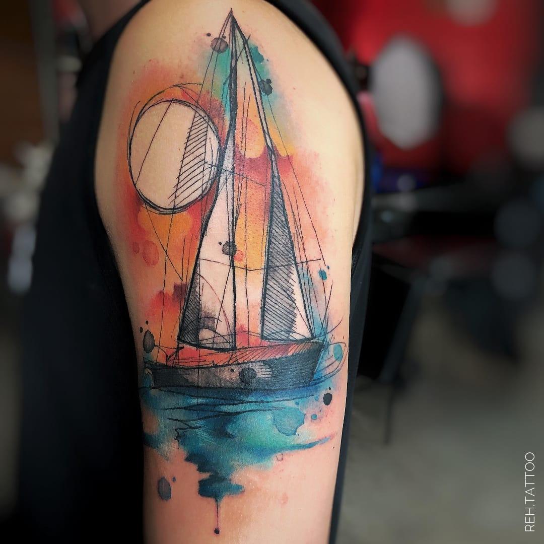 20 Tatuagens Formidáveis Da Artista Reh Tattoo